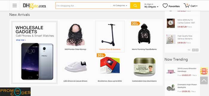 DHgate Vast Range of Products