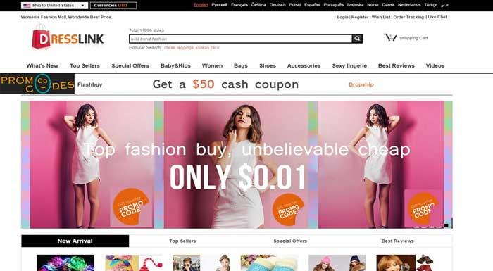 Dresslink Promo Codes For Extra Saving