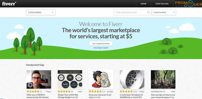 Fiverr Best Place to Do Job