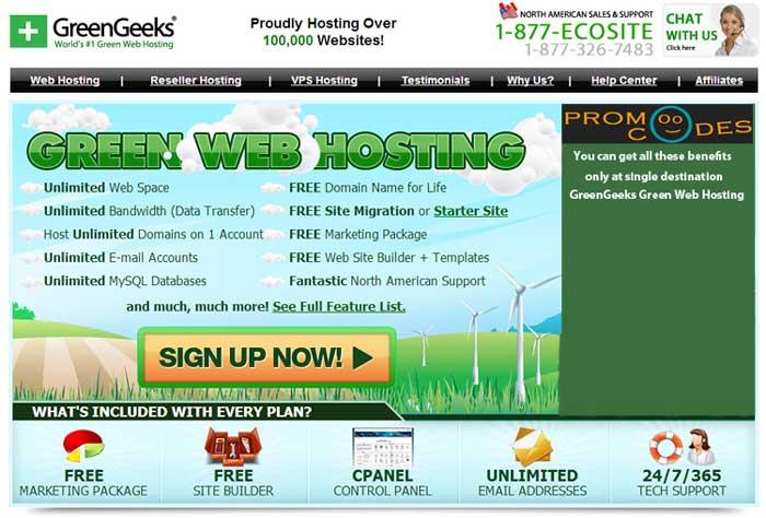 GreenGeeks Promo Codes