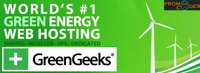 Greengeeks Greeen Energy Web Hosting with low pricing using Greengeeks Coupons