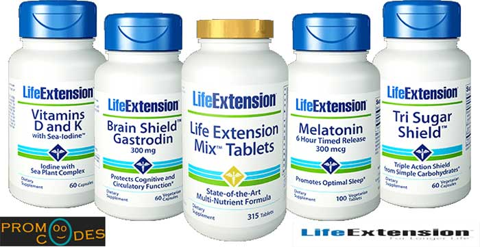 LifeExtension Coupons which work on all most all Products