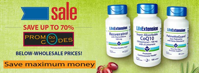 Life Extension Promo Codes give you best deals