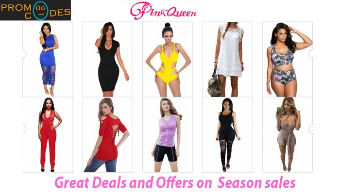 Pinkqueen Coupons and Season Sale