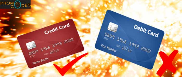 Use Credit Cards To Make Online Payments Instead of Debit Cards