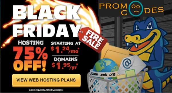 Hostgator Black Friday Sale 75% Off