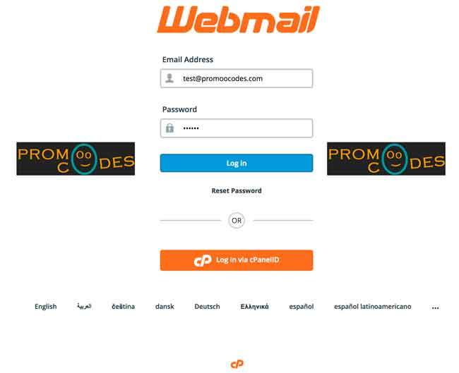 Login directly to your cpanel email ids