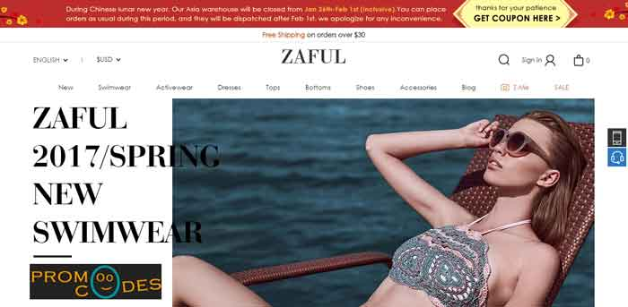 Zaful Coupons
