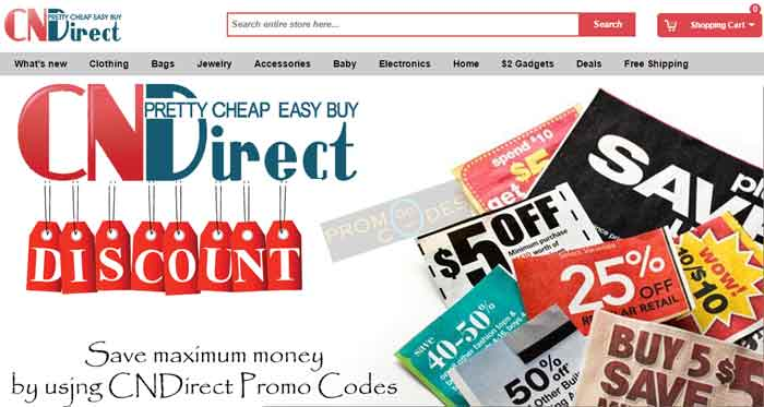 Use Money saving CNDirect Coupons to get discounts