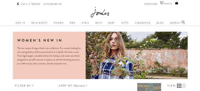 Joules USA Promo Code
