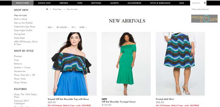 Eloquii Plus Size Clothing