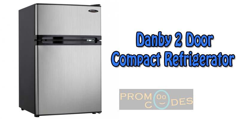 Danby 2 Door Refrigerator