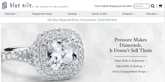 Bluenile - The affordable diamond store