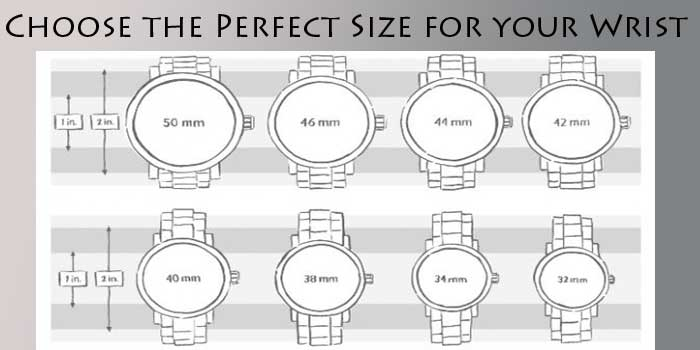 Choose the Perfect size for your wrist