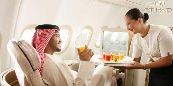 Etihad Airline Service