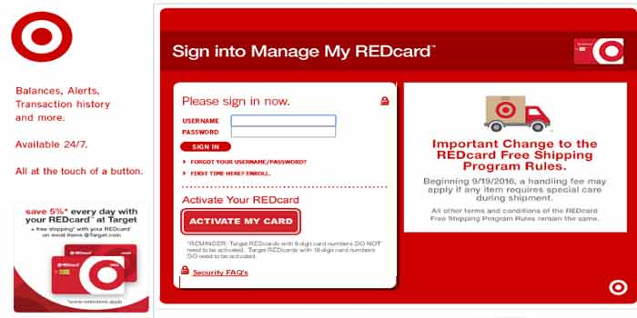 How you can manage Target REDcard