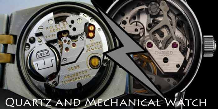 Make a choice between Quartz and mechanical watch