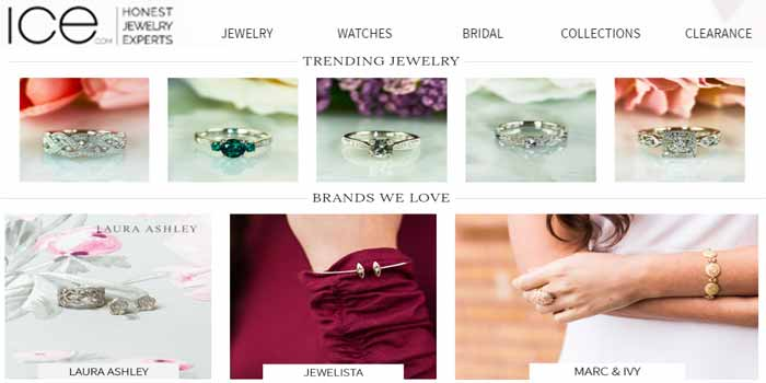 ice.com - Best collection of jewelry