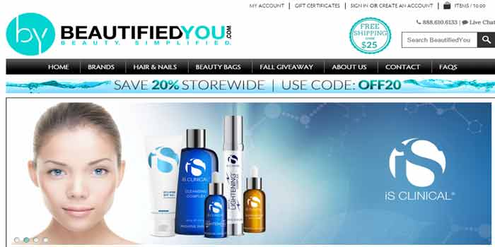 BeautifiedYou Coupons to save money