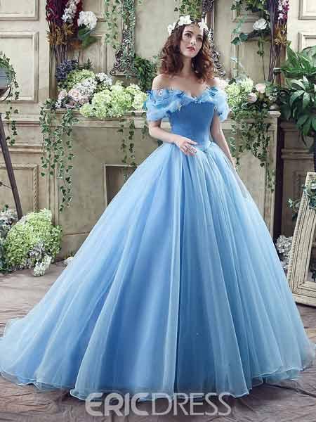 Ball Gown Princess Wedding Dress