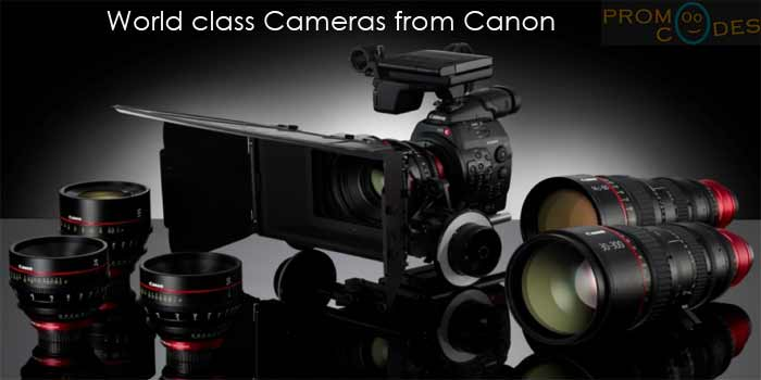 Canon products at affordable price