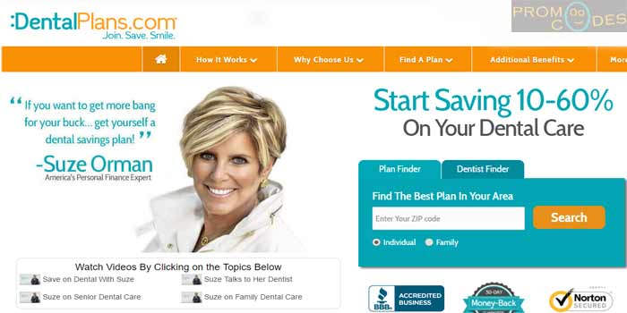 DentalPlans.com Perfect Dental Insurance