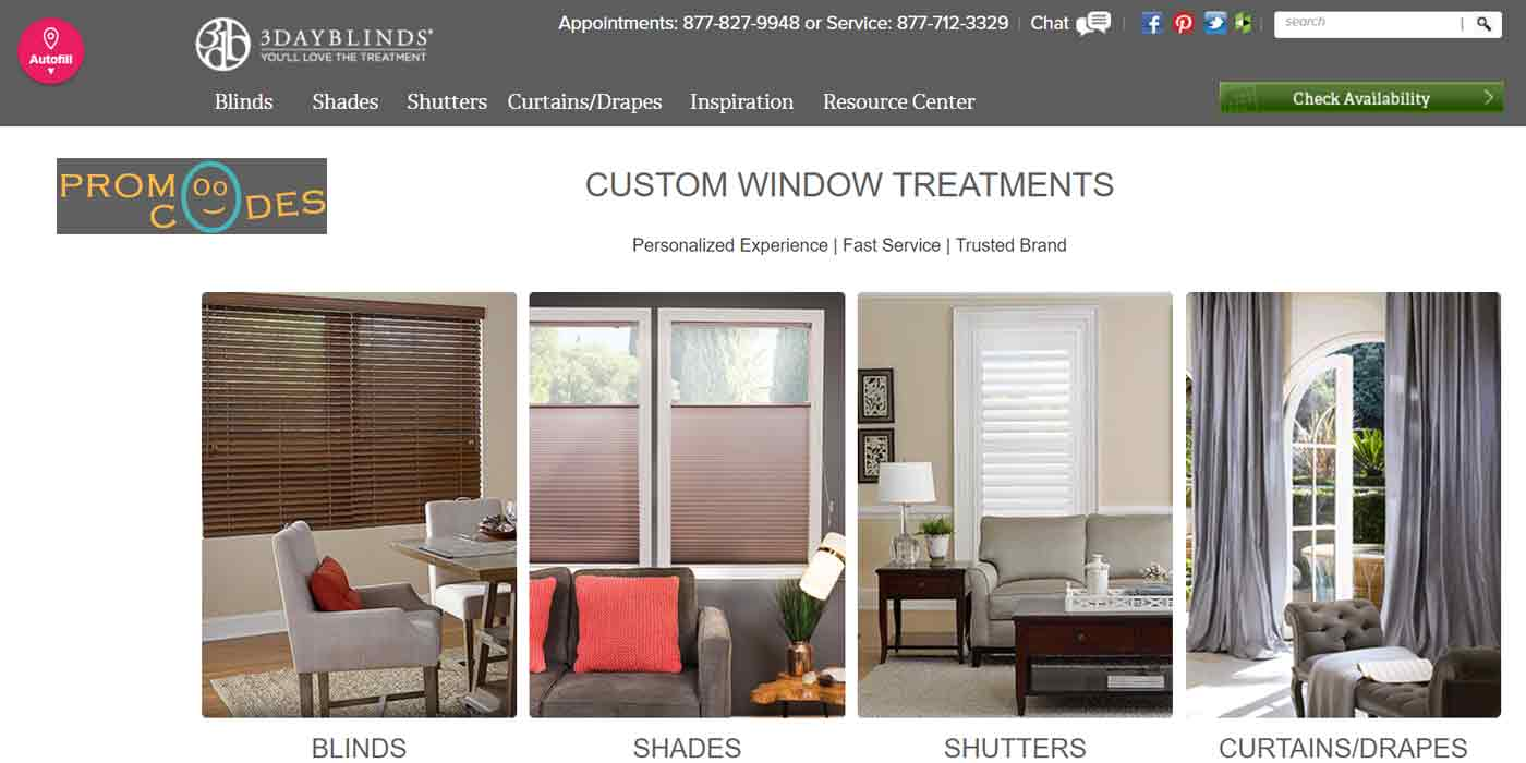 3 day blinds promotions