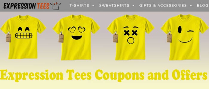 Expression Tees Coupons