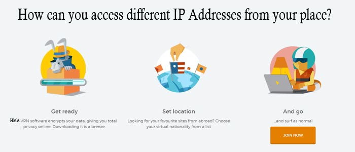 How to Access Different IP Addresses with HideMyAss