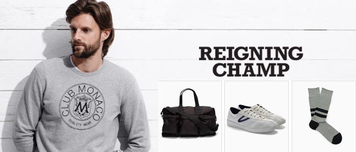 Reigning Champ Coupon Codes