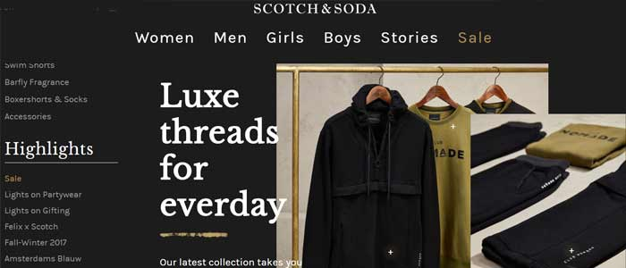 Scotch & Soda Coupons & Promo Codes