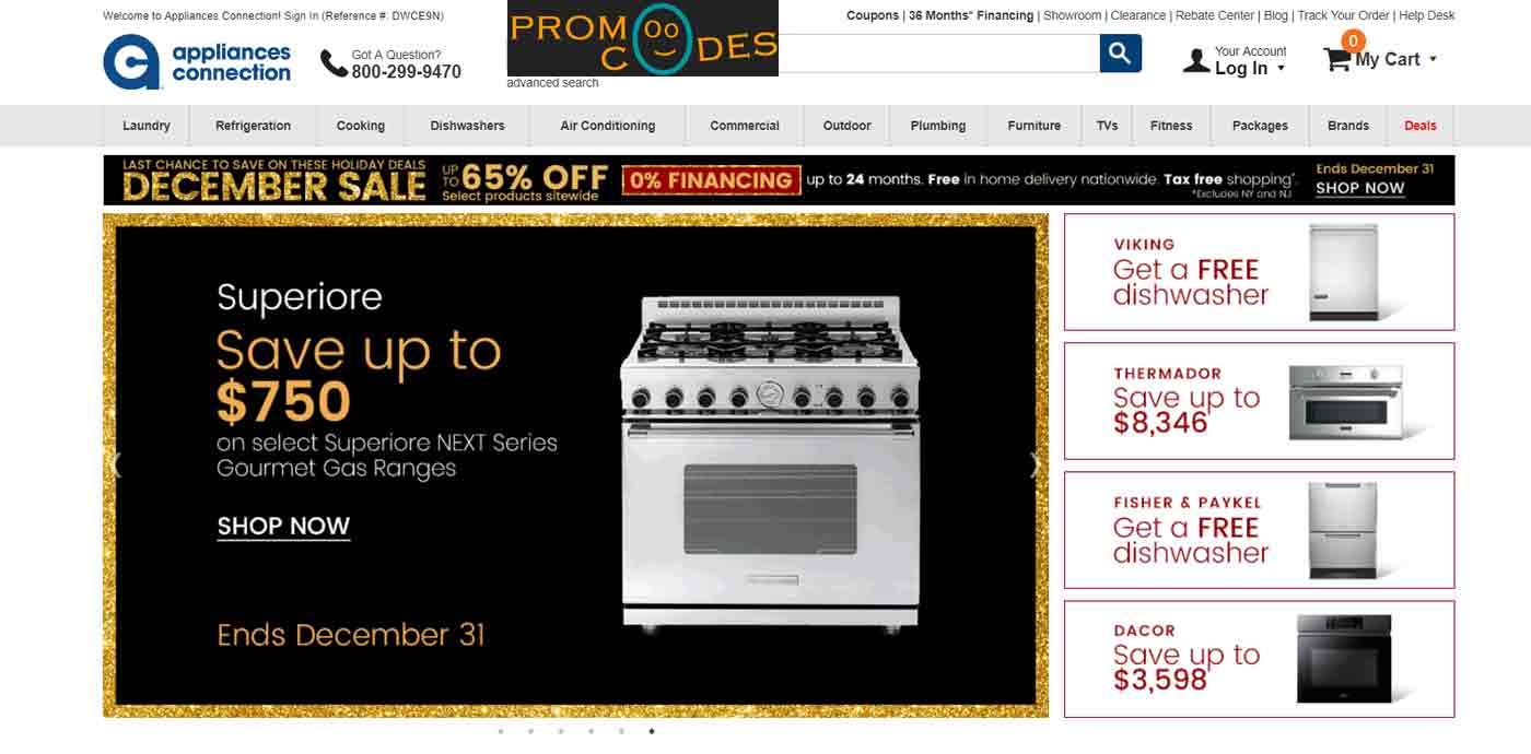 appliancesconnection military discount