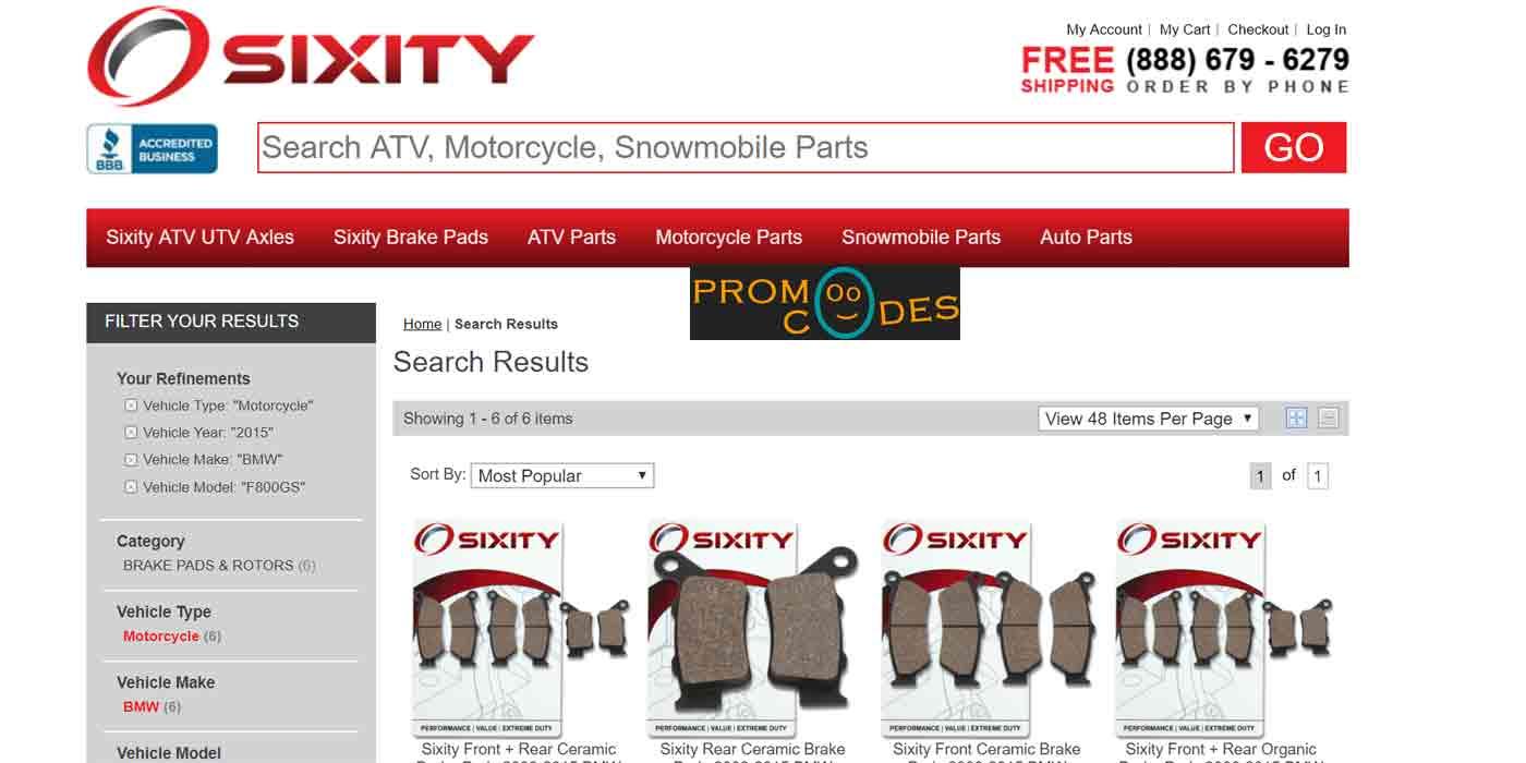 sixity promo code