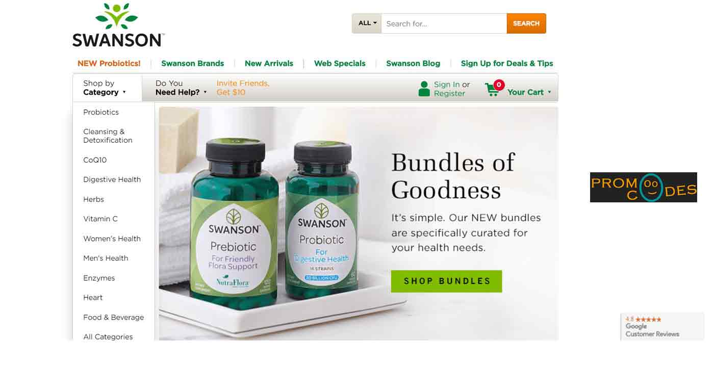 swanson vitamins coupon code 20 off
