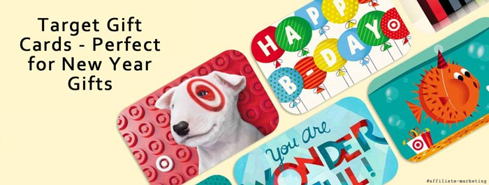 Target New Year Gift Cards