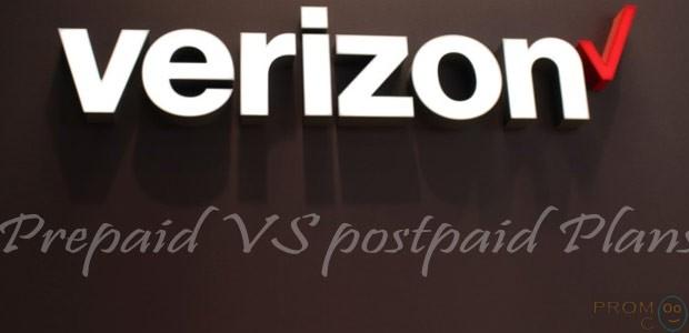 Verizon Wireless Prepaid VS Postpaid