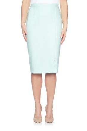 Alfred Diamond Cut Out Skirt
