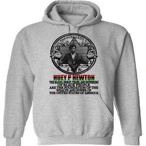Black History Month Huey P Newton Malcolm X Garvey Hoodie V