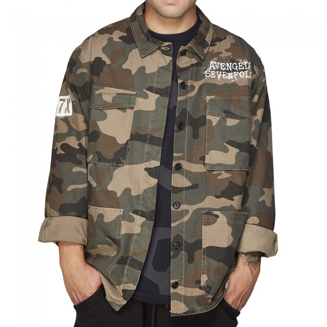 Deathbat camo jacket