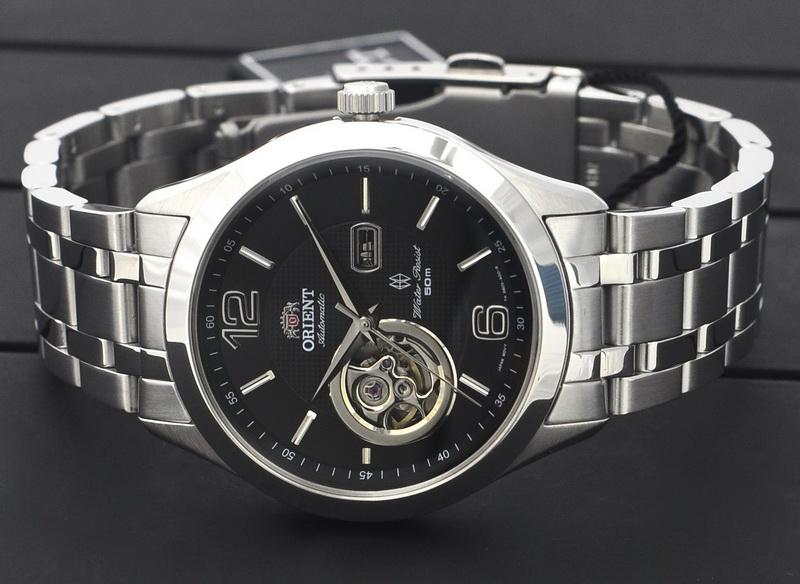 Open Heart Automatic Men's Watch