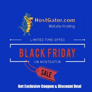 Hostgator Black Friday Discount