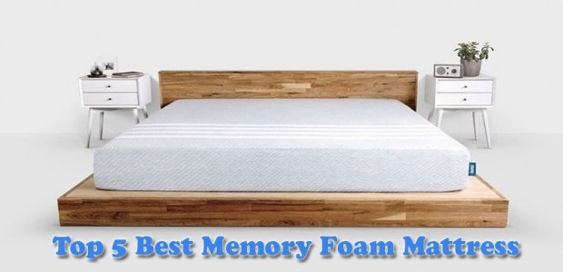 Top 5 Best Memory Foam Mattress