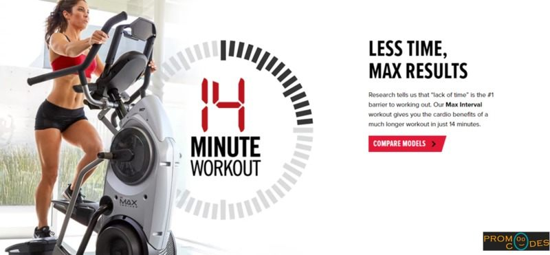 Bowflex Max Trainer Promo Codes