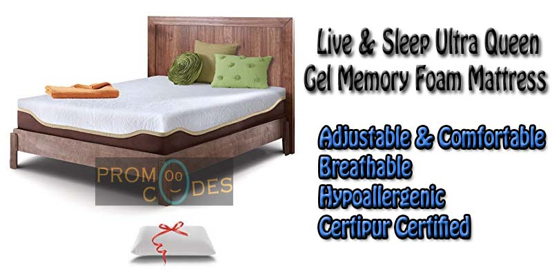 Live-&-Sleep-Memory-Foam