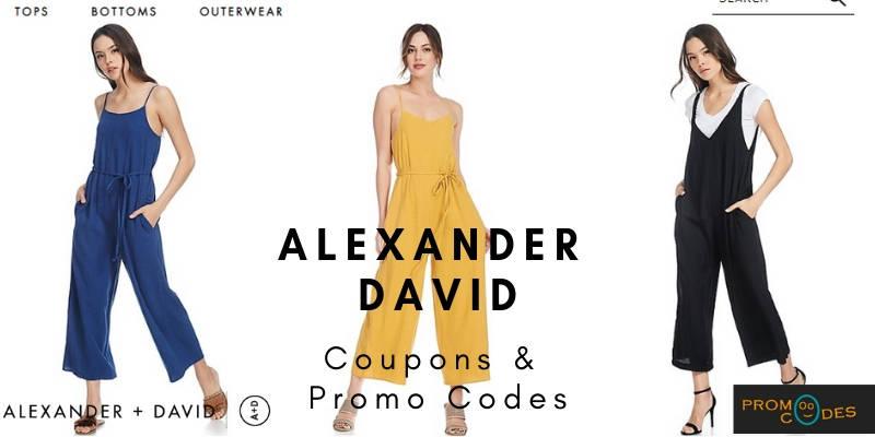 Alexander David Coupons