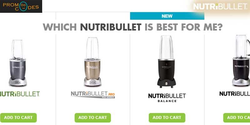 NutriBullet Discount Vouchers