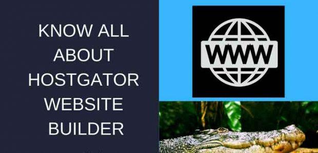 WHY USE HOSTGATOR WEBSITE BUILDER