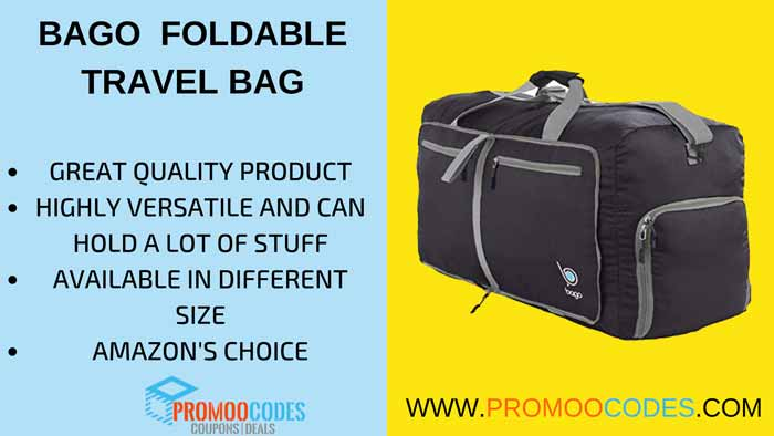 BAGO FOLDABLE TRAVEL BAG