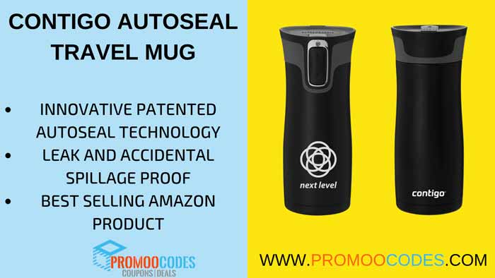 CONTIGO INNOVATIVE AUTOSEAL TRAVEL MUG