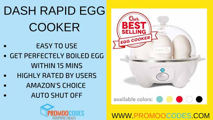 Dash rapid Egg Cooker is one of the high demand products in Amazon